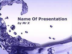 17 meilleures images du tableau Water Drops Powerpoint Presentation