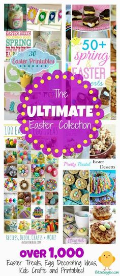 The Ultimate Easter Collection – A Roundup of Roundups!