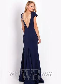 Anastasia Cap Sleeve Gown