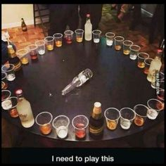 Spin the bottle idea