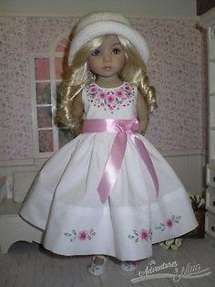"""DIANNA-EFFNER-LITTLE-DARLING-13""""-Embroidered-dress-set"""