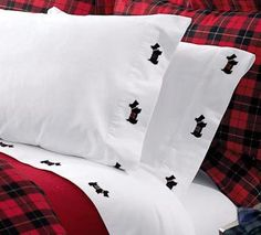 I don't like flannel sheets but perhaps have follenderwerks embroider some on my pillow case and sheets :-)