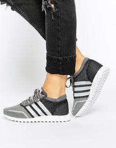 adidas Originals LOS Angeles Gray/Silver Sneakers