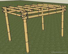 Hoe Bouw je een Bamboe Pergola