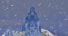 arendelle castle minecraft - Buscar con Google