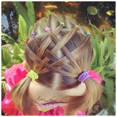Cute hairstyle for girls