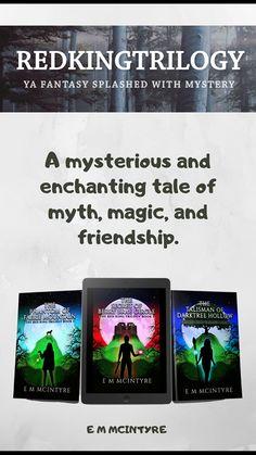 YA Fantasy splashed with mystery