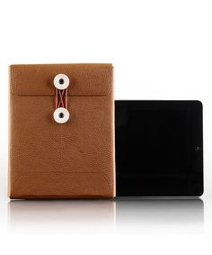 Take a look at this Brown Envo Sleeve for iPad by ECO STYLE on #zulily today!