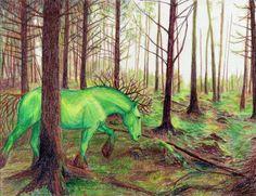 Earth horse by Jezarae