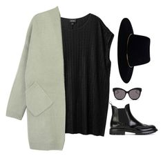 """""""Untitled #6333"""" by heynathalie ❤ liked on Polyvore featuring moda, Monki, Church's, Zimmermann y Blanc & Eclare"""