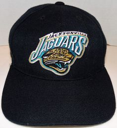 Jacksonville Jaguars Vintage (AJD) Original Snapback hat -Brand New- NFL Jacksonville Jaguars Logo, Hats For Sale, Snapback Hats, Nfl, Baseball Hats, Brand New, The Originals, Cotton, Vintage