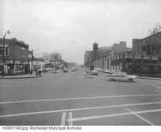 Ridge Rd W and Lake Ave 1956