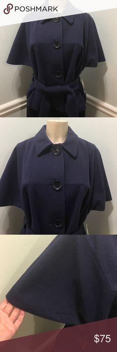 df2d62a9 Michael Kors Wool Swing Coat Aubergine Size L NEW Brand Michael Kors.