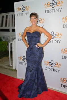 The ever so fabulous Nicole Murphy on the red carpet event, DESTINY Premiere Party October 10, 2015.
