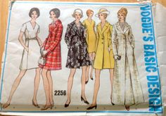 1960s Vogue 2256 Misses Princess Seam Day Dress by mbchills, $12.00