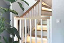 Dom w tamaryszkach 2 Thing 1, Dream House Exterior, Stairs, Furniture, Home Decor, Detached House, House Design, Stairway, Decoration Home