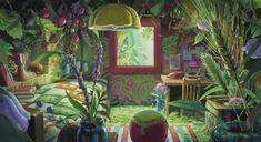 The Secret World of Arrietty / The Borrower Arrietty,Studio Ghibli,Anime Scenery Studio Ghibli Films, Art Studio Ghibli, Secret World Of Arrietty, The Secret World, Hayao Miyazaki, Totoro, Another Anime, Animation Background, Jolie Photo