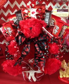353 Best Valentine Bouquets Images In 2019 Candy Arrangements