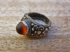 Ring old tribal ring vintage bedouin ring by AnticsEthnics
