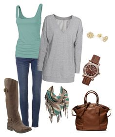 """""""Untitled #857"""" by leiton13 ❤ liked on Polyvore featuring Fat Face, Vince, Old Navy, Liz Claiborne, Coach and Lucky Brand"""