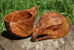 The number 1 community for all things related to bushcraft and the outdoors. Bushcraft, Scandinavian Bowls, Carved Spoons, Wood Carving Designs, Woodworking Inspiration, Wood Spoon, Wood Creations, Wood Bowls, Whittling