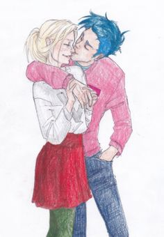 Teddy Remus Lupin and Victoire Weasley