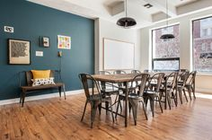 The Well-Appointed Catwalk: Take a Breather in Boston: Professionally Decorated, Private Spaces by the Hour (Try it for Free! Rooms By The Hour, 2nd Floor, In Boston, Flooring, Interior Design, Street, Catwalk, Table, Spaces