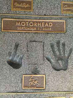 Lemmy leaves his mark