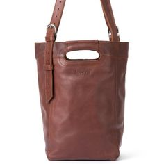 Love 41 Leather Bucket Bag (Chestnut) | Full Grain Leather 41 Year Warranty