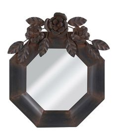 Take a look at this Octagon Mirror by Wilco on #zulily today!