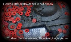 On the 11th hour, of the 11th day, of the 11th month .........We Will Remember Them .........Lest We Forget.