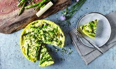 #Asparagus and Goat #Cheese #Frittata #recipe? Sign us up!