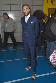 Jidenna backstage during the 3rd Annual College Signing Day