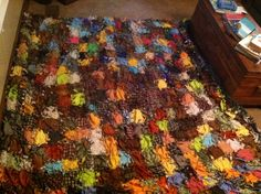 DIY [no-sew] quilt. choose any colors in fleece. Great for baby ... : no sew quilts - Adamdwight.com