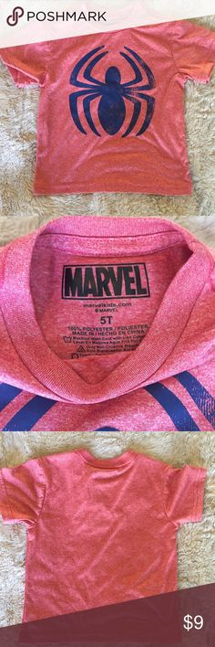 Shop Kids' Marvel Red Blue size Tees - Short Sleeve at a discounted price at Poshmark. Description: Awesome tee, never worn! Size Sold by Fast delivery, full service customer support. Marvel Shirt, Cool Tees, Fashion Tips, Fashion Design, Fashion Trends, Red And Blue, Spiderman, Awesome, Sleeve