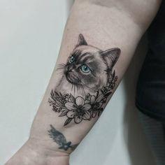 Watch # # # # # - Land of Tattoos Finger Tattoos, Cute Tattoos, Small Tattoos, Tatoos, Black Cat Tattoos, Animal Tattoos, Cat Portrait Tattoos, Tattoos For Kids, Nature Tattoos