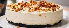 Cheesecake alle mandorle e cioccolato vegana