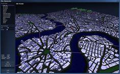 Introversion city generator