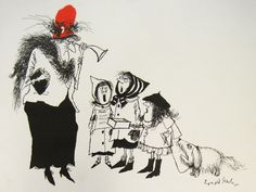 shelleysdavies.com   Art to Zucchini and everything in between   Ronald Searle