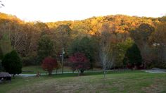 View from our front porch. October, 2012