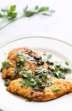 Easy Chicken Piccata! Takes only 20 minutes to make. Chicken breast cutlets…