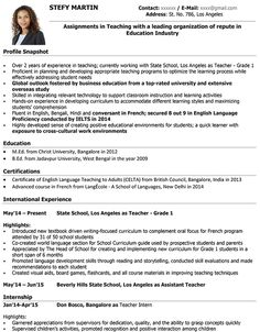 Resume Format For Teachers Resume Format Housekeeping  Pinterest  Sample Resume Functional .