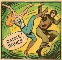 """Emilia Earhart and her """" friend"""" Lola danced one last dance before her long trip. then ended up in bed together. Old Comics, Comics Girls, Vintage Comics, Funny Comics, Creepy Comics, Comics Illustration, Illustrations, Vintage Pop Art, Retro Art"""