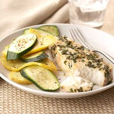 This 20-minute dinner is low in calories and fat. Broil this seasoned fish until it flakes easily with a fork. The garlic and herbs make it melt in your mouth.