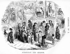 """""""Substance and Shadow"""" (Punch, 1843) """"Museums are an example of perfect order and perfect elegance... to the disorderly and rude populace"""". """"They teach the youg children to respect property and behave gently""""."""