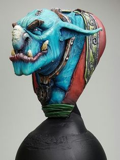 The Troll - MJ Miniature Bust