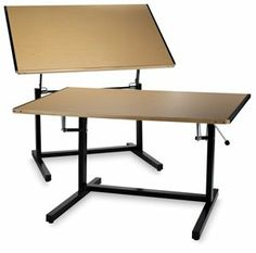 Blick carries a variety of art tables and work surfaces for your artistic needs. Shop hobby and craft tables, workbenches, folding tables, and more.