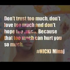 Nicki Minaj Quotes and Sayings - Bing Images