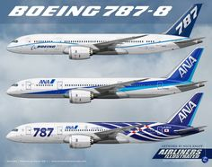 The Boeing 787 joins the British Airways fleet in May Civil Aviation, Aviation Art, Ana Airlines, Camouflage, Boeing 787 Dreamliner, Commercial Plane, Fly Around The World, Airline Logo, Boeing Aircraft