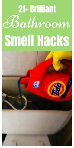Diy Household Tips 661818107731081719 - Bathroom smell hacks, tips, and tricks. Source by rainbootsandapronstringspins Household Cleaning Tips, Cleaning Day, Household Cleaners, Cleaning Recipes, Green Cleaning, House Cleaning Tips, Diy Cleaning Products, Cleaning Solutions, Cleaning Supplies